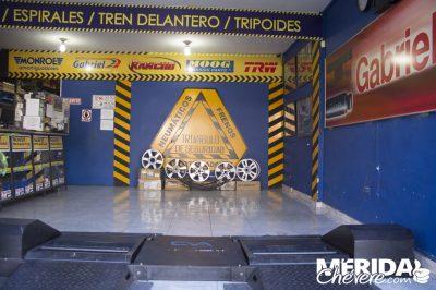 Amortiguadores Mérida 1